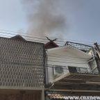 ไฟไหม้โกดังเก็บสินค้า กลางเมืองเชียงใหม่ คาดไฟฟ้าลัดวงจร