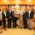 บริษัทไทยแอร์เอเชีย จำกัดเข้าเยี่ยมคาราวะ เพื่อสร้างความสัมพันธ์อันดีระหว่างจังหวัดเชียงใหม่