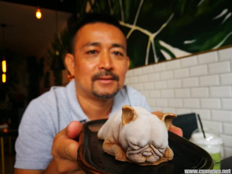 ฮือฮาแห่ถ่ายรูปคู่ไอศครีมน้องหมาพันธุ์เฟรนช์บลูด๊อกเหมือนมาก สุดฟินแห่แชร์ในโลกโซเชียล
