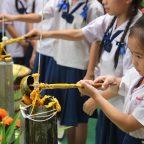 โรงเรียนอนุบาลดรุณนิมิตหล่อเทียนพรรษาสืบสานประเพณีทางพุทธศาสนาปลูกจิตสำนึกเด็ก