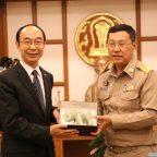 กงสุลใหญ่แห่งสาธารณรัฐประชาชนจีน เข้าเยี่ยมผู้ว่าราชการจังหวัดเชียงใหม่