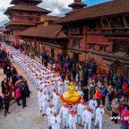 ไทย-เนปาล จัดบวชเพื่อฟื้นฟูพระพุทธศาสนาบรรพชหมู่ 1,119 รูป
