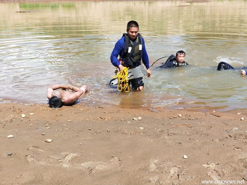 หนุ่มว่ายน้ำดับร้อนดับคาอ่างเก็บน้ำ
