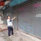 ร้องเรียนมือบอนพ่นสีศิลเปอะร้านค้าย่านเศรษฐกิจเชียงใหม่ไม่สวยงาม