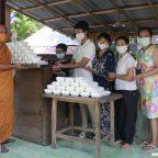 แหล่งเรียนรู้วิถีพุทธล้านนา (MEDITATION CENTER) โดยมูลนิธิวัดเงิน จัดโครงการข้าวไข่เจียว 9 บาทสู้โควิด-19