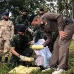 ทหารกองกำลังผาเมือง สกัดกั้นกลุ่มขบวนการขนยาบ้า จำนวน 1,950,000 เม็ด ในพื้นที่แม่สาย เชียงราย